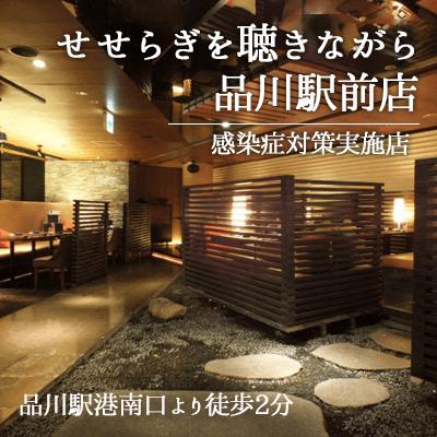 東京都/品川・五反田/せせらぎを聴きながら 品川駅前店の婚活パーティー