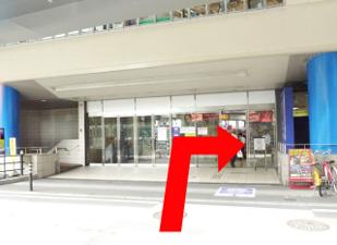 9階エレベーターを降りたら{red}正面に「TBC」{/red}が見えるので、 TBCを正面にして右へ。