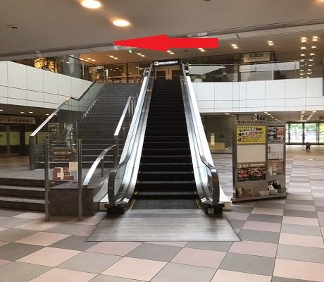 エスカレーター2階を上がり左の本館が会場です。 【北海道 武蔵小杉タワープレイス店】