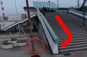 JR大阪環状線「大阪城公園駅」 改札口をでて、左の出口前にある 大きな階段を降りてすぐのところに集合 ※「PARTY☆PARTY」のバインダーを持ったスタッフが お待ちしております。