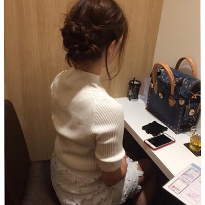 素敵なヘアスタイルの女性様♡