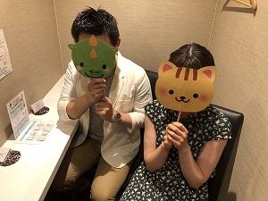 \最大100名のDX婚活パーティー開催予定/
