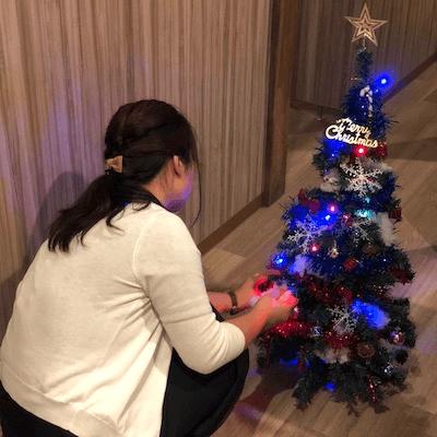 クリスマスの準備で大忙し♡♡