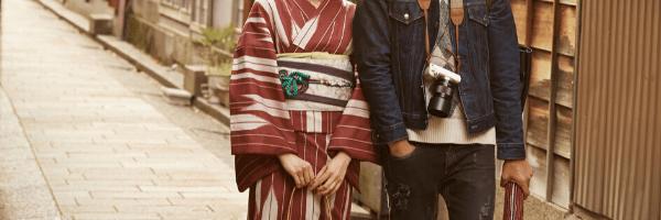 京都でデート