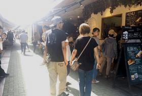 長瀞の商店街