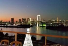 デックス東京ビーチは綺麗な夜景が見れる