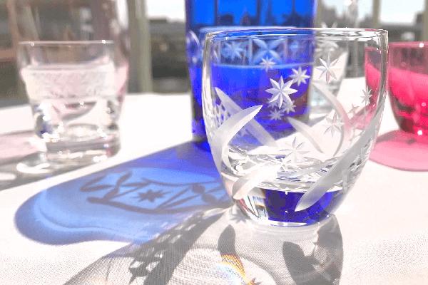 婚活でグラス作り