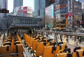 スカイバスで東京を満喫する