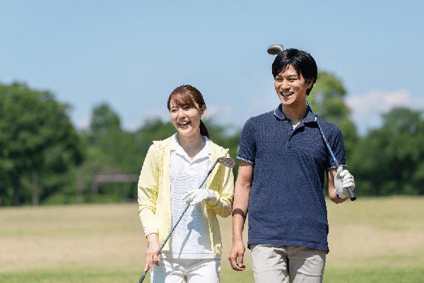 ゴルフカップル