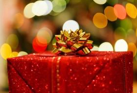 クリスマスプレゼントをゲットする