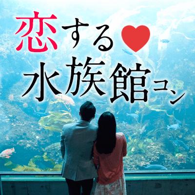 【品川】《同年代で楽しむ》水族館コン♪アクアパーク品川を遊びつくせ!幻想空間で出逢う♡
