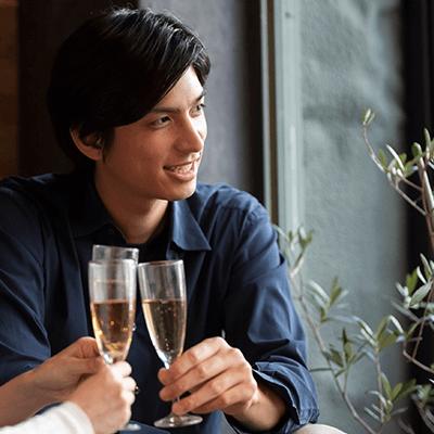 \アルコール付きの恋活Bar♡/年収600万円以上etc男性と雰囲気抜群の会場で