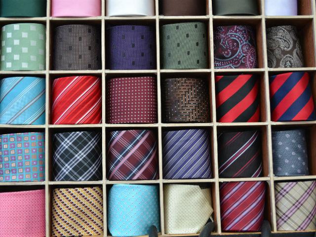 【ポイント2】ネクタイの柄で個性やセンスをアピール